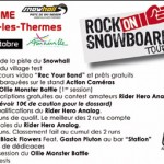 Rock on snowboard tour à Amneville Snowhall