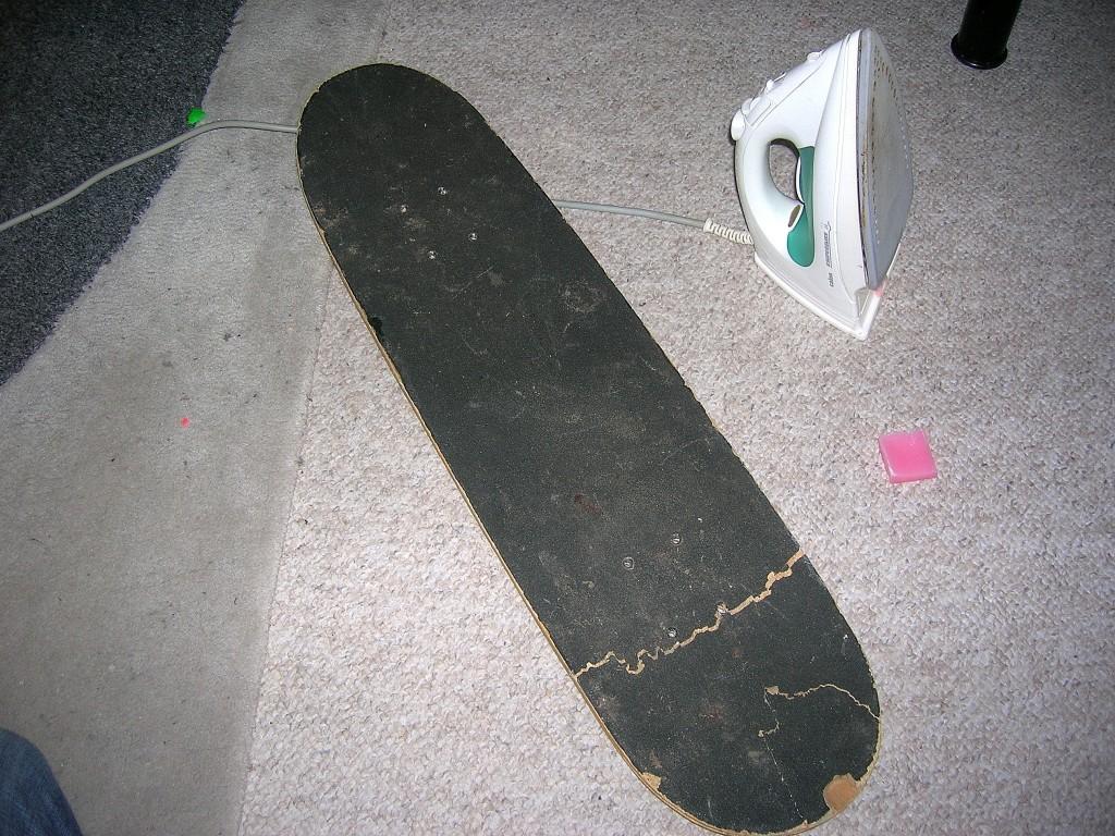Comment fabriquer un snowskate de fortune en 15 minutes peuf rider l 39 - Comment faire du skateboard ...