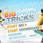 Jeu de snowboard en ligne big snow tricks