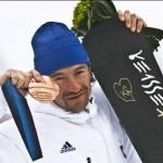 Médaille de bronze  pour Mathieu Bozzetto en snowboard alpin