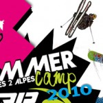 Les camps d'été de snowboard 2 Alpes où Tignes