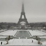 Snowboard dans les rues de paris