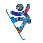 Le snowboard en route pour les jeux olympiques Sotchi